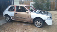 Mazda 323 WSCC Ice Racer Project (85% DONE) PLUS parts/cars