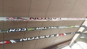 RH  Hockey Sticks.