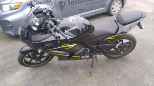 2012 Kawasaki 250/ low kms/ REDUCED PRICE FOR MINOR SCRATCHES