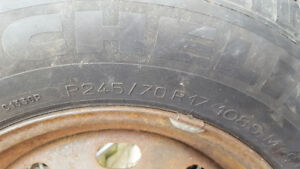 spare tire for ford 5 stud
