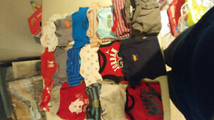 Baby Boy 6 month clothing lot