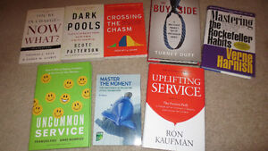 Assorted business books - EXCELLENT CONDITION, LIKE NEW