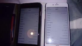 2x iPhone 6 16gb phones both unlocked