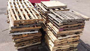 COME & GET FREE PALLETS! cleaning supplies