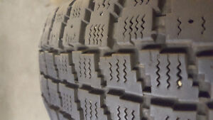 2 Small car witer tires 185 70r13