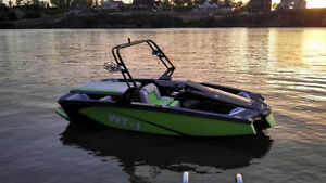 RADICAL WAKE/SURF BOAT NOW AT ALBERTA MARINE ! Edmonton Edmonton Area image 1