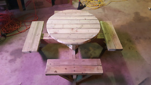 Kids  Outdoor picnic  Table.