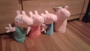 Peppa Pig Hand Puppets