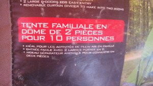 Tente camping  10 personnes