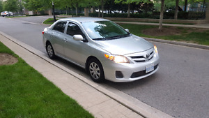 2013 Toyota Corolla 4cyl Sedan
