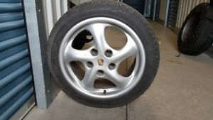 4 Winter Tires and Authentic 2003 Porsche Boxster Rims