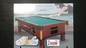 THE  DUTCHES   COIN  OPERATED  POOL TABLES - SHUFFLEBOARDS Belleville Belleville Area image 2