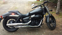 Reduced Price - Unique Flat Black Honda Shadow Phantom