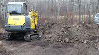 **SKIDSTEER SERVICES***EXCAVATIONS - HAULING