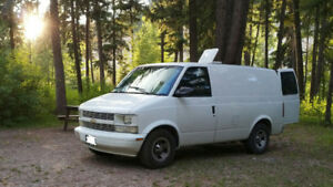 Insulated Chevy Astro Van 2002