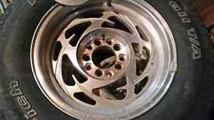 """UNIVERSAL 15"""" Eagle Alley Rims with BF Goodrich tires Kawartha Lakes Peterborough Area image 3"""