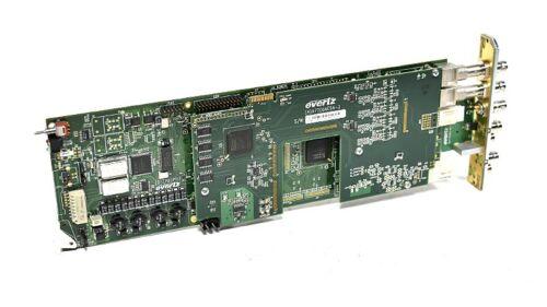 Evertz 7721AE4-HD HD-SDI 4 AES Unbalanced/Balanced Audio Embedder