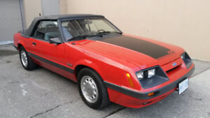 1986 Mustang GT Convertable