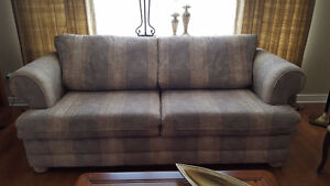 Sofa and Loveseat (Mariette Clermont)