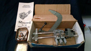 Record Dowelling Jig No.148 Made in England 40 years Old