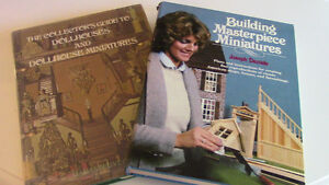 2 Books, Collector's Guide to Dollhouses & Dollhouse Miniatures Kitchener / Waterloo Kitchener Area image 1