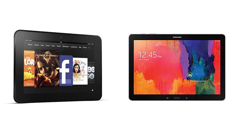 kindle fire hd vs samsung galaxy tablet ebay