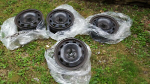 "Set of 4 15"" 5 Bolt Rims"