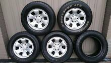 "4x4 Wheels Tyres and Rims 17"" Dandenong Greater Dandenong Preview"