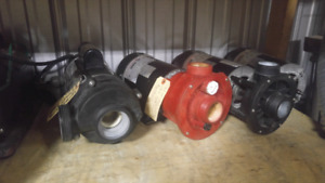 Refurbished pumps from 1hp to 3hp