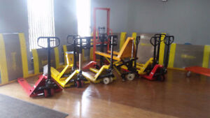 pallet jack / pump truck **all kinds available** 1 yr warranty