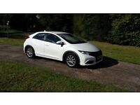 2013 Honda Civic 1.4 i VTEC SE 5dr Manual WHITE
