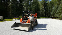 Skid Steer Hauling Services, Gravel, Sandy Loam & More
