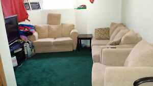 2 Bedrooms Basement for Rent (850 All Include Utilities + Wi-Fi)