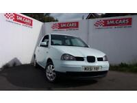 2001 51 SEAT AROSA 1.4 S AUTOMATIC 3 DOOR.GREAT COLOUR.MOT 2019,LOW INSURANCE.