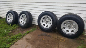 P245/70 R17  Firestone Winterforce Studded Winter Tires