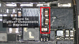 Micro-soldering services, touch issue, water damage or no power