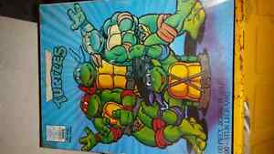 Original NINJA TURTLE 100 PCES PUZZEL AND MONSTER TRUCK