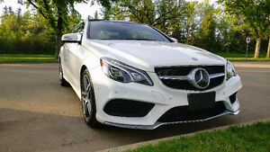2016 Mercedes-Benz E-Class E400 4MATIC Coupe - Almost brand new