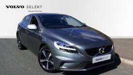 2017 Volvo V40 D2 (120) R DESIGN Nav Plus wit Manual Diesel Hatchback