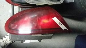 1999 Pontiac sunfire rear tail lights