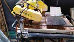 Professional WetSaw 2hp Brick Tiles Rock