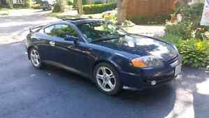 2003 hyundai tiburon gt v6 loaded