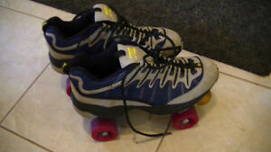 size 8 roller skate and wheels