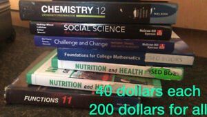 Used Textbooks for High School