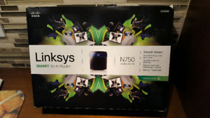 Cisco Linksys EA3500 Dual Band N750 Gigabit Router Switch