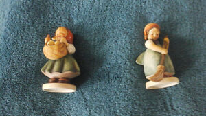 "Hummel  ""Little  Homemakers"" , pair of figurines  and mini-plate Kitchener / Waterloo Kitchener Area image 2"