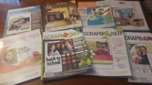 Canadian ScrapBooker Magazines All for $6.00