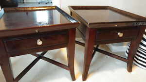 TWO SIDE TABLES IN VERY GOOD CONDTION