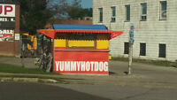 Hot dog cart for rent