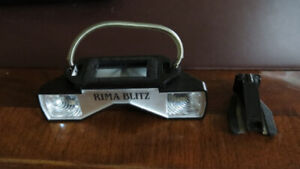 Vintage Rima Blitz flash and Velbon monopod for sale!